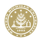 Small Decal-WMU Seal Gold