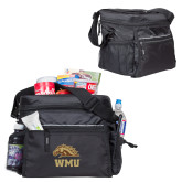 All Sport Black Cooler-WMU w/ Bronco Head