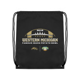 Black Drawstring Backpack-2018 Potato Bowl Champs