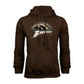 Brown Fleece Hood-