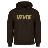Brown Fleece Hoodie-WMU
