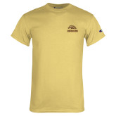 Champion Vegas Gold T Shirt-Broncos w/ Bronco Head
