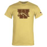 Champion Vegas Gold T Shirt-W w/ Bronco