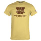 Champion Vegas Gold T Shirt-Track & Field