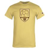 Champion Vegas Gold T Shirt-Soccer Shield
