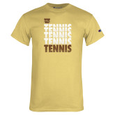 Champion Vegas Gold T Shirt-Tennis Repeated