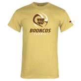 Champion Vegas Gold T Shirt-Tennis Abstract Ball