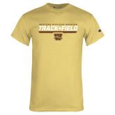 Champion Vegas Gold T Shirt-Track & Field Flat w/ Bar