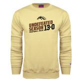 Champion Vegas Gold Fleece Crew-Undefeated Season Football 2016