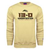 Champion Vegas Gold Fleece Crew-13-0 Undefeated Football Season 2016