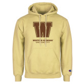 Champion Vegas Gold Fleece Hoodie-Western Michigan University w/ W
