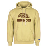 Champion Vegas Gold Fleece Hoodie-Broncos w/ Bronco Head