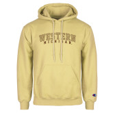 Champion Vegas Gold Fleece Hoodie-Arched Western Michigan