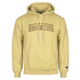 Champion Vegas Gold Fleece Hoodie-Arched Western Michigan Broncos