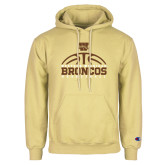 Champion Vegas Gold Fleece Hoodie-Broncos Basketball Half Ball