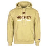 Champion Vegas Gold Fleece Hoodie-Hockey w/ Crossed Sticks