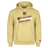 Champion Vegas Gold Fleece Hoodie-Western Michigan Broncos Hockey