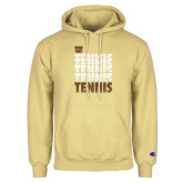 Champion Vegas Gold Fleece Hoodie-Tennis Repeated