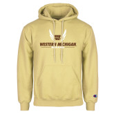 Champion Vegas Gold Fleece Hoodie-Western Michigan Track & Field Wings