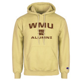 Champion Vegas Gold Fleece Hoodie-Arched WMU Alumni
