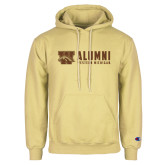 Champion Vegas Gold Fleece Hoodie-Western Michigan Alumni Stacked