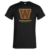 Black T Shirt-Western Michigan University w/ W