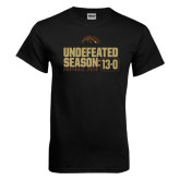 Black T Shirt-Undefeated Season 13-0 Football 2016