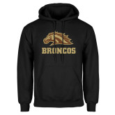 Black Fleece Hoodie-Broncos w/ Bronco Head