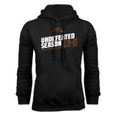 Black Fleece Hoodie-Undefeated Season Football 2016