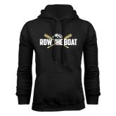 Black Fleece Hood-Row the Boat