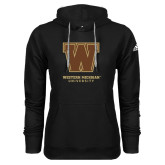 Adidas Climawarm Black Team Issue Hoodie-Western Michigan University w/ W