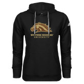 Adidas Climawarm Black Team Issue Hoodie-Western Michigan University w/ Bronco Head