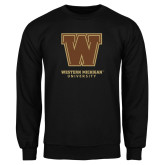 Black Fleece Crew-Western Michigan University w/ W