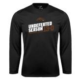 Syntrel Performance Black Longsleeve Shirt-Undefeated Season Football 2016