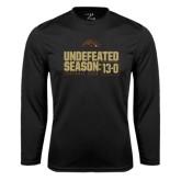 Syntrel Performance Black Longsleeve Shirt-Undefeated Season 13-0 Football 2016