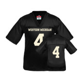 Youth Replica Black Football Jersey-#4