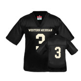 Youth Replica Black Football Jersey-#3