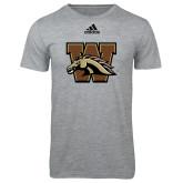 Adidas Sport Grey Logo T Shirt-W w/ Bronco