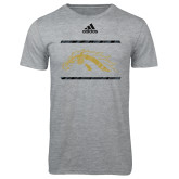 Adidas Sport Grey Logo T Shirt-Adidas Ghost Bronco
