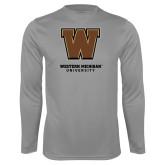 Syntrel Performance Steel Longsleeve Shirt-Western Michigan University w/ W