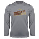 Syntrel Performance Steel Longsleeve Shirt-Undefeated Season Football 2016