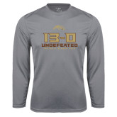 Syntrel Performance Steel Longsleeve Shirt-13-0 Undefeated Football Season 2016