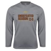 Syntrel Performance Steel Longsleeve Shirt-Undefeated Season 13-0 Football 2016