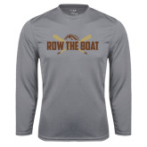 Syntrel Performance Steel Longsleeve Shirt-Row the Boat