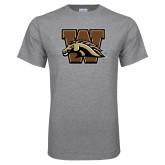 Grey T Shirt-W w/ Bronco