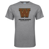 Grey T Shirt-Western Michigan University w/ W