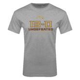 Grey T Shirt-13-0 Undefeated Football Season 2016
