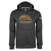 Under Armour Carbon Performance Sweats Team Hoodie-Western Michigan University w/ Bronco Head