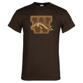 Brown T Shirt-W w/ Bronco