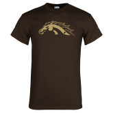 Brown T Shirt-Football